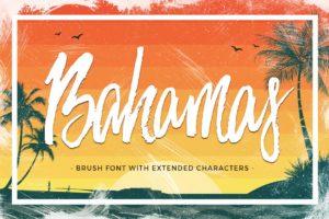 summer fonts bahamas
