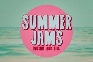 summer fonts summer jams